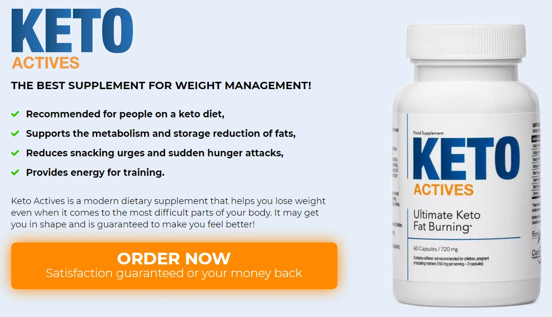 Keto actives slimming capsules