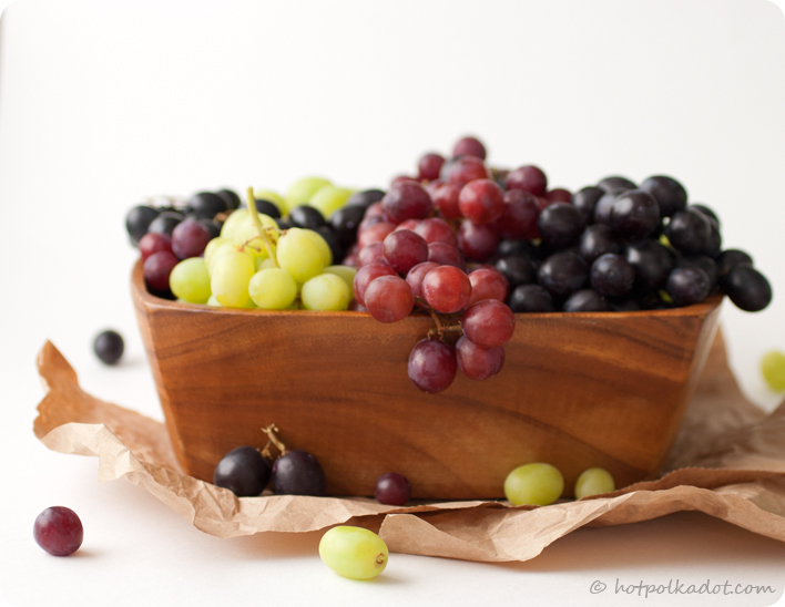 Great Grape Pie because change is good via @hotpolkadot